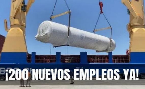 ¡De mucho beneficio será la gran planta de gas en La Paz!